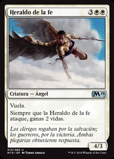 Heraldo de la fe - Herald of Faith (Foil)