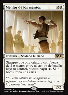 Mentor de los mansos - Mentor of the Meek (Foil)