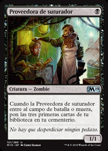 Proveedora de suturador - Stitcher's Supplier (Foil)
