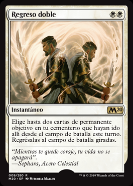 Regreso doble - Brought Back (Pre-Release)(Foil)