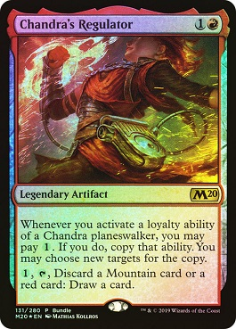 Regulador de Chandra - Chandra's Regulator (Bundle)(Foil)