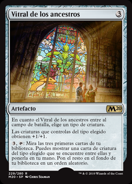 Vitral de los ancestros - Icon of Ancestry