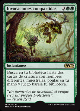 Invocaciones compartidas - Shared Summons (Foil)