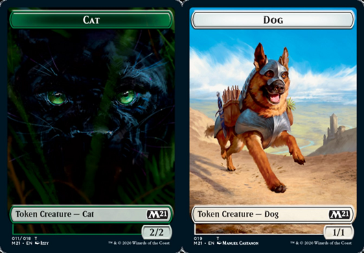 Ficha de Felino (11)/Dog - Cat/Dog Token
