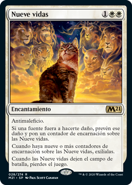 Nueve vidas - Nine Lives (Foil)