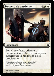 Decreto de destierro - Banishment Decree