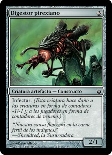 Digestor pirexiano - Phyrexian Digester