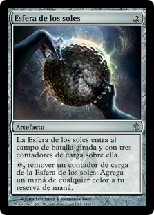 Esfera de los soles - Sphere of the Suns