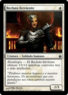 Recluta ferviente - Ardent Recruit