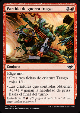 Partida de guerra trasga - Goblin War Party
