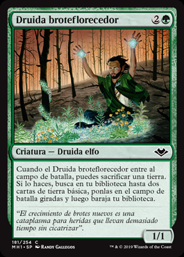 Druida broteflorecedor - Springbloom Druid