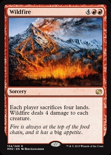 Incendio destructor - Wildfire (Foil)