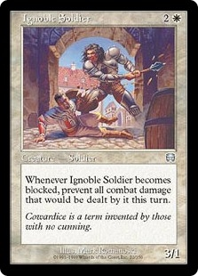 Soldado innoble - Ignoble Soldier (Foil)