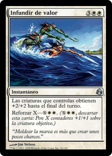 Infundir de valor - Swell of Courage