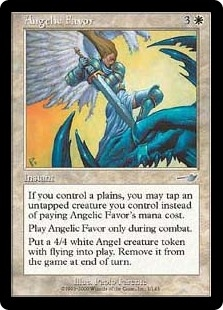 Servicio angelical - Angelic Favor (Foil)