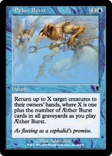 Estallido del Éter - Æther Burst (Foil)(MP)