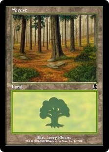 Bosque - Forest (Foil)(MP)