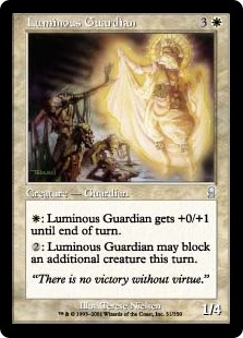 Guardiana luminosa - Luminous Guardian