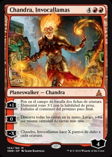 Chandra, Invocallamas - Chandra, Flamecaller