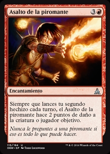 Asalto de la piromante - Pyromancer's Assault