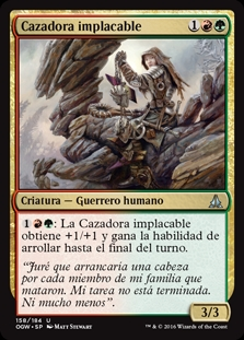 Cazadora implacable - Relentless Hunter