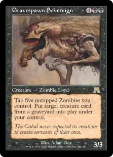 Soberano engendramuertos - Gravespawn Sovereign (Foil)