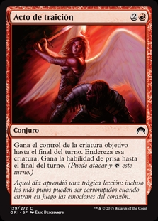 Acto de traición - Act of Treason (Foil)