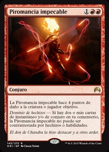 Piromancia impecable - Exquisite Firecraft