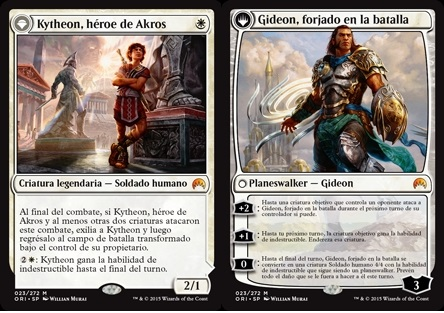 Kytheon, héroe de Akros - Gideon, Battle-Forged //Gideon, forjado en la batalla - Kytheon, Hero of Akros