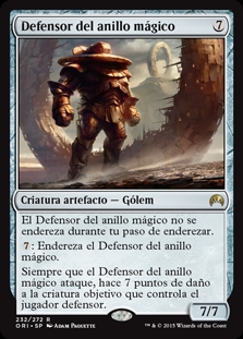 Defensor del anillo mágico - Mage-Ring Responder