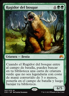 Rugidor del bosque - Woodland Bellower (Foil)
