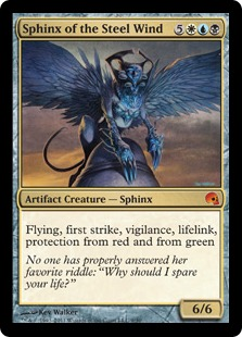 Sphinx of the Steel Wind - Esfinge del viento de acero