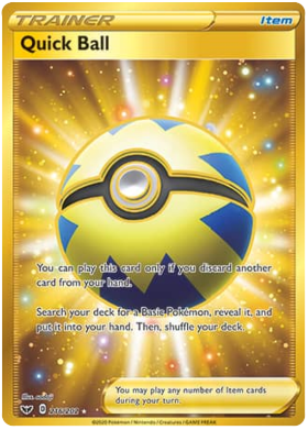 Quick Ball (Secret Rare)