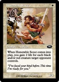 Explorador honorable - Honorable Scout