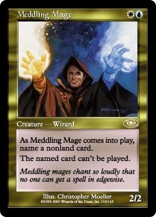 Mago Entrometido - Meddling Mage (MP)