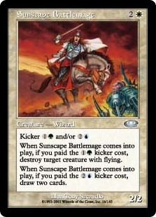 Maga de Guerra Escapasol - Sunscape Battlemage (Foil)