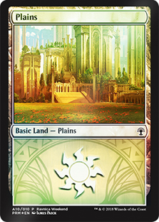 Llanura - Plains (Foil)(Selesnya)(Ravnica Weekend)