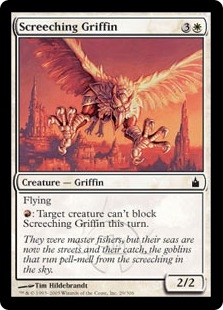 Grifo chillón - Screeching Griffin