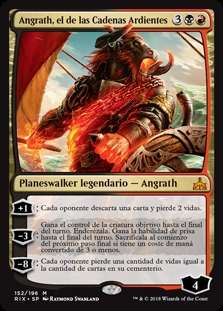 Angrath, el de las Cadenas Ardientes - Angrath, the Flame-Chained