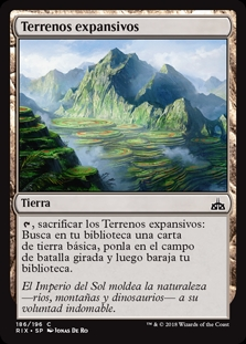 Terrenos expansivos - Evolving Wilds