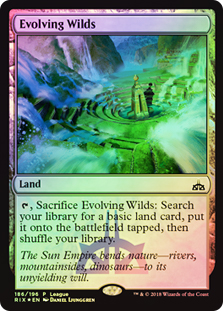 Terrenos expansivos - Evolving Wilds (Promo League)(Foil)