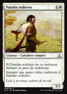 Paladín sediento - Famished Paladin