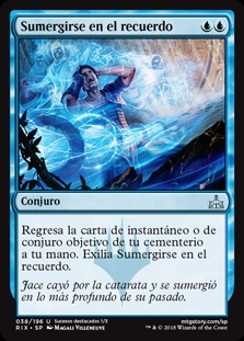 Sumergirse en el recuerdo - Flood of Recollection