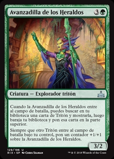 Avanzadilla de los Heraldos - Forerunner of the Heralds
