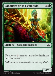 Caballero de la estampida - Knight of the Stampede (Foil)