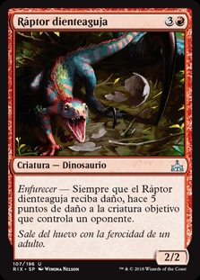 Ráptor dienteaguja - Needletooth Raptor