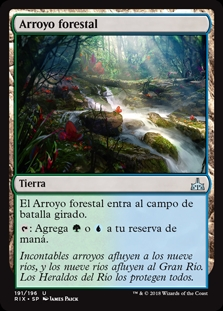 Arroyo forestal - Woodland Stream
