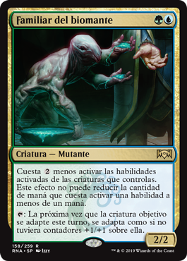 Familiar del biomante - Biomancer's Familiar (Foil)(Pre-Release)