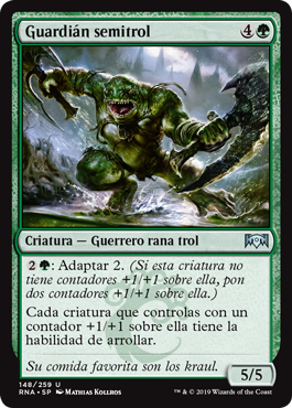 Guardián semitrol - Trollbred Guardian