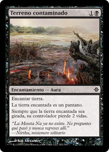 Terreno contaminado - Contaminated Ground